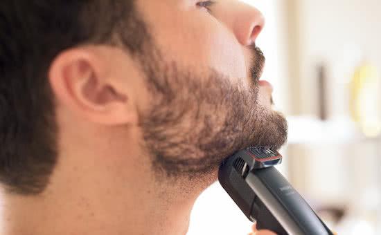 Voorbeeld baardtrimmer